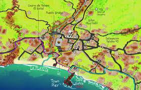 Bucerias Mexico Map by Yelapa Walking Map Jeffrey F Obser 0862504000241 Amazon Com Books