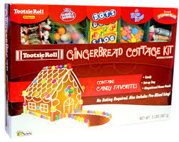 amazon com gingerbread cottage or house kit crayola grocery