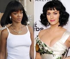 2014 a line hairstyles rihanna katy perry bob haircut the new hair trend 2014 stylefrizz