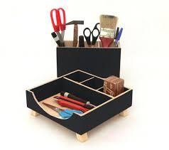 Accessories For Office Desk Desk Organizer Black Desktop Organizer Desktop Set Wooden