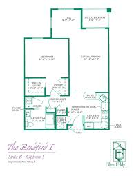 floor plans for glen eddy senior apartments u0026 cottages 1 u0026 2 bedroom