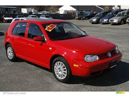 red volkswagen golf 2004 tornado red volkswagen golf gls 4 door 6037345 photo 3
