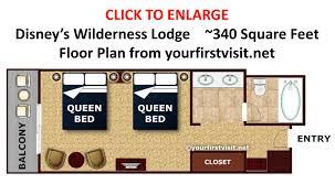 villas at wilderness lodge floor plan part 33 villas wilderness