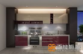 Gloss Red Kitchen Doors - op15 a08 modern red high gloss acrylic kitchen cabinet cabinets