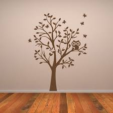 wall sticker tree owl color the walls of your house wall sticker tree owl owl tree wall sticker wall chimp uk