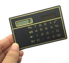 travel calculator images Slim credit card cheap solar power pocket calculator novelty small jpg