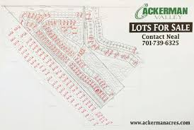 ackerman acres ackerman valley lots for sale devils lake nd