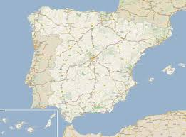 Spain Map Footiemap Com Spain 2015 2016 Map Of Top Tier Spanish