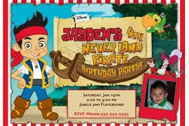 jake and the neverland birthday jake and the neverland invitations printable boys custom