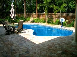 apartments stunning simple inground pool landscape ideas