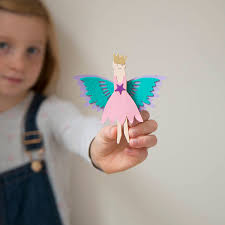 make your own fairy peg doll kit by cotton twist