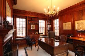 home design wonderful dark brown wood glass modern library ideas
