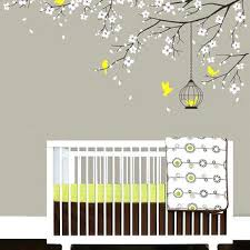 Wall Decals For Baby Nursery Nursery Room Wall Stickers Baby Nursery Decal Birdcage Flying