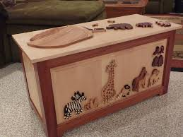 raised panel noah u0027s ark toy chest toyboxes pinterest toy box