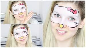 hello kitty make up tutorial youtube