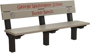 traditional inground buddy bench treetop products