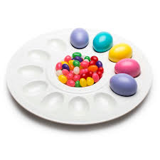 deviled egg serving platter deviled egg tray for sale eggshell white zak style zak designs