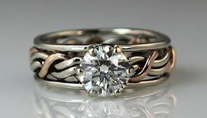 christian wedding bands christian diamond cord of three wedding ring photo gallery