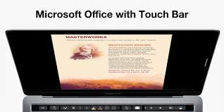 touch bar integration coming soon to word powerpoint and excel