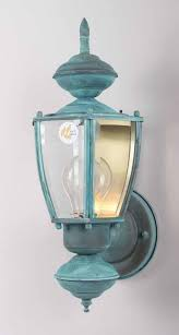 1 Light Verde Green Outdoor Wall Sconce Ajtpm Central States