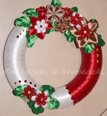 pin by majka on kanzashi pinterest wreaths craft and