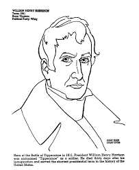 usa printables us presidents coloring pages president william