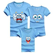 shop minion spongebob t shirt family matching clothes