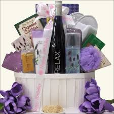 spa gift basket luxury gift baskets luxury birthday wine and spa gift basket gift