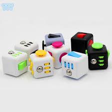 Desk Toys Aliexpress Com Buy 10 Colors Magic Fidget Cube A Vinyl Desk Toy