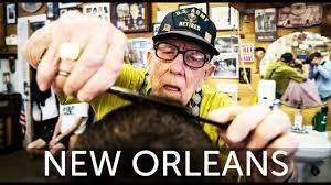 haircut by 93 year old world war 2 veteran