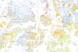 map of dallas fort worth mapping dallas fort worth s racial divide d magazine