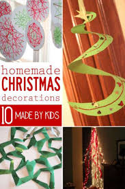 Home Made Christmas Decor 10 Homemade Christmas Decorations For Kids To Make