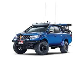 mitsubishi car the mitsubishi desert warrior is the apocalypse ready off roader
