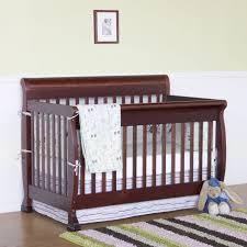 Mini Convertible Cribs by Bedroom Dark Davinci Emily 4 In 1 Convertible Crib With Wicker