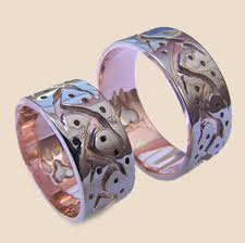 wolf wedding rings wolf on the path of seeming contradictions wedding bands