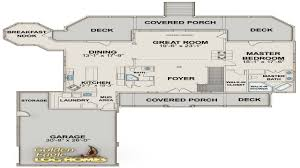 country log home floor plans