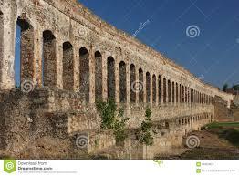 ruins of roman aqueduct merida stock photo image 65324026