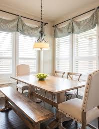 Windows Treatments Valance Decorating Dining Room Design Rustic Window Treatments Valance Dining Room