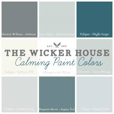 the wicker house paint colors the wicker house