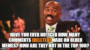 Top 100 Internet Memes - deleted comments user the username weekend save steve harvey
