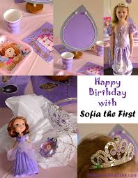 sofia the birthday party ideas birthday party ideas with sofia the