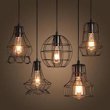hängeleuchte schlafzimmer neue loft eisen pendelleuchte jahrgang industrielle beleuchtung
