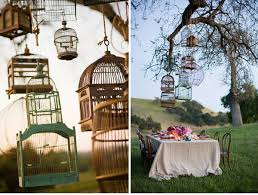 bird cage decoration wedding design decor birdcage details