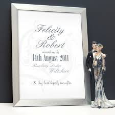 personalised wedding gifts personalised wedding gifts my word