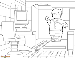the lego movie coloring page lego good morning emmet printable