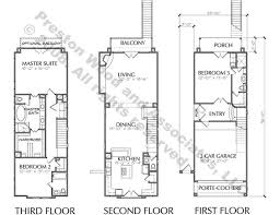 row home floor plans townhome plan d3025 p l a n s townhouse narrow