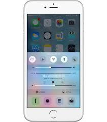 to add a switch to the power saving mode in the control center ios