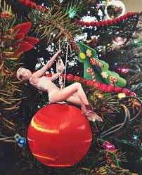 miley cyrus wrecking ornament by angie six via flickr
