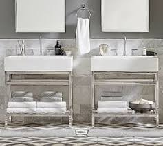 bathroom vanities u0026 sink consoles pottery barn