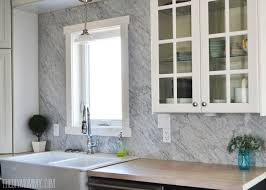 kitchen marble backsplash a marble panel backsplash for our diy kitchen the diy